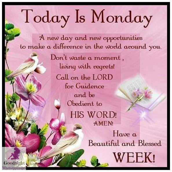 # Day of the week Wishes Beautiful Quotes