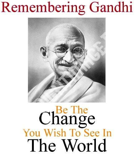 Happy Mahatma Gandhi Jayanti Wishes 1