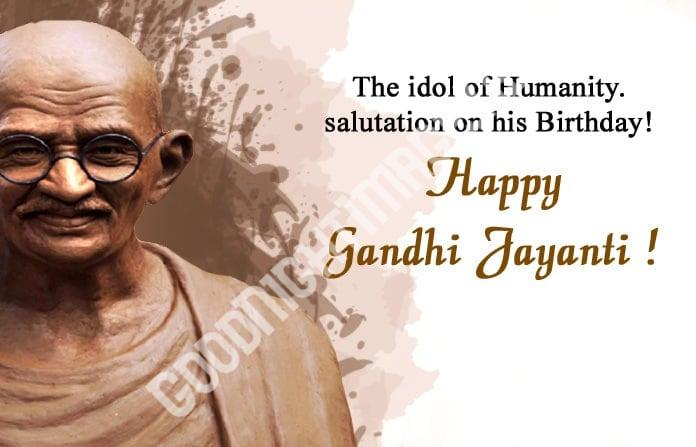 Happy Mahatma Gandhi Jayanti Wishes 11