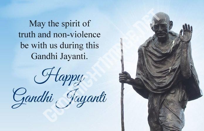 Happy Mahatma Gandhi Jayanti Wishes 2