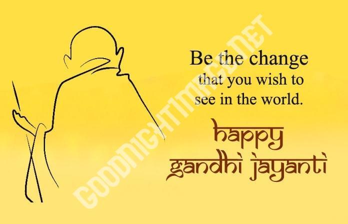 Happy Mahatma Gandhi Jayanti Wishes 5