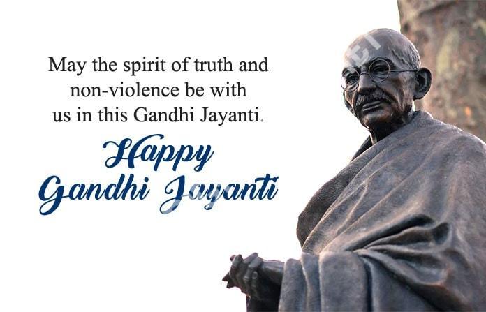 Happy Mahatma Gandhi Jayanti Wishes 6