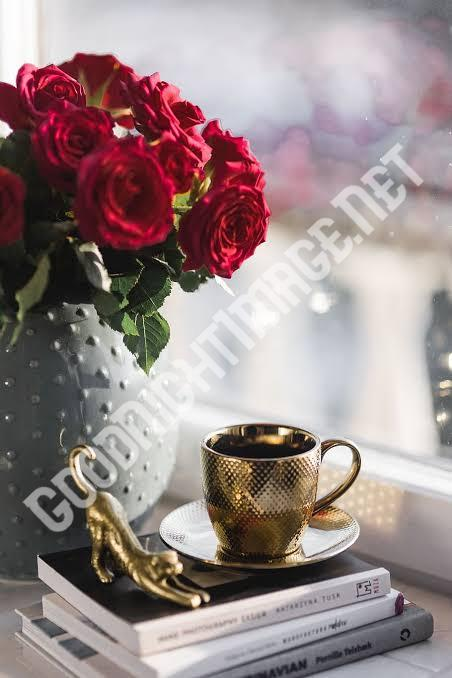 Beautiful Coffee Cup Images with rose4