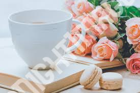 Beautiful Coffee Cup Images with rose9