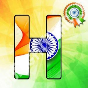 Happy Re public Day Whatspp DP With Indian flag24