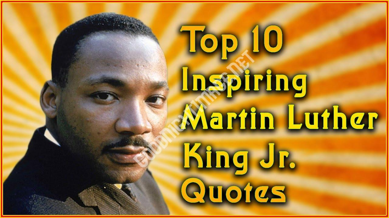 Best Inspirational Martin Luther King Jr Quotes Image